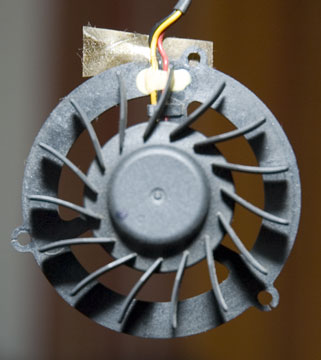 Ventilateur dos