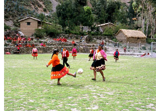 Footballeuses des Andes