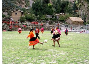 Footballeuses des Andes